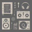 DJ icons - 49421133