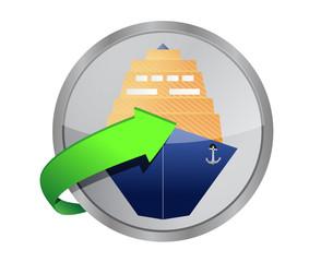 ship cruise button