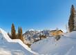 Mountains ski resort Bad Hofgastein - Austria