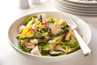 Pasta Primavera with Salmon