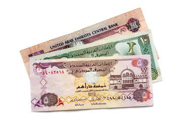 UAE Currency Isolated