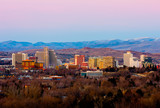 Reno after the sunset