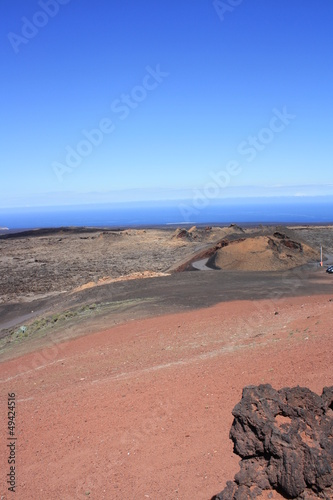 Volcano of Lanzarote, Parque National Timanfaya,Canary Islands