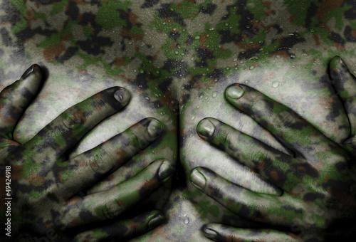 Fototapeten,abstrakt,erwachsen,american,armee