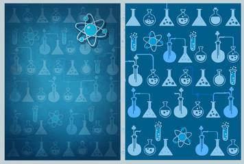 PATTERN.Sci.Background. Decor.Science.Study.