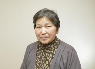 60代の日本人の女性