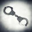 steel police handcuffs