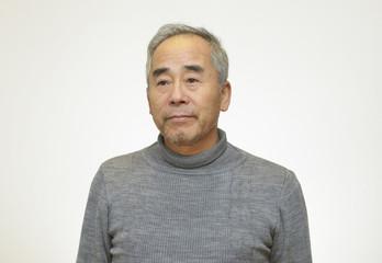 60代の日本人の男性