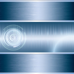 Blue abstract tech background
