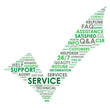 """SERVICE"" Tag Cloud (customer support contact us hotline)"