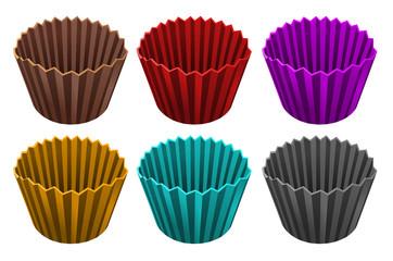 Emballages colorés