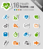 Stickers - Health and Fitness icons