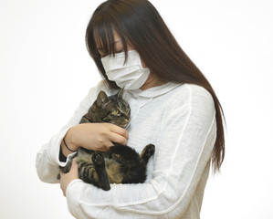 動物アレルギーのイメージ