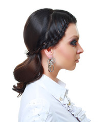 evening event hairstyle