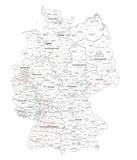 Bundestagswahl Deutschland  2013 Wahlkreiskarte