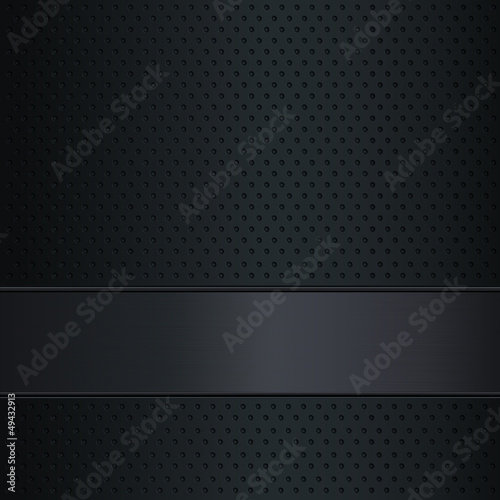 Dark metallic background