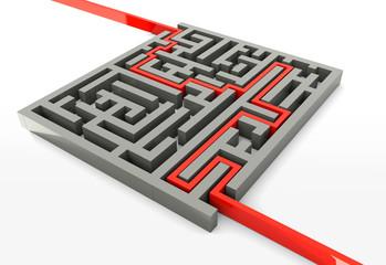 Concept labyrinthe