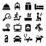 Fototapety Hotel   Icons