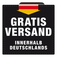 Gratisversand - innerhalb Deutschlands