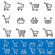 shopping cart signs