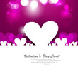 Valentines day hearts fantastic love design