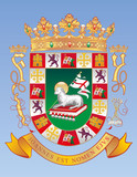 Vector Coat of Arms of the Commonwealth of Puerto Rico