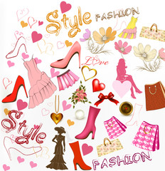 Fashion  stylish background