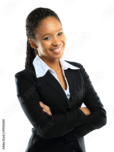 Portrait of a successful young business woman