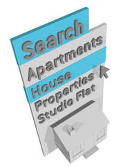 MENU SEARCH HOME - 3D