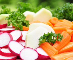 Gemüseteller- Rohkost