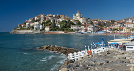 the beautiful town of Porto Maurizio