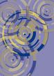 Kreise, Drehung, Hintergrund, Muster, Karte