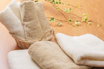 折り畳んだタオル