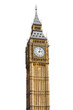 Big Ben Isolated on White background - 49442326