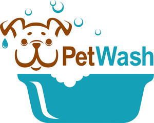 Pet wash icon