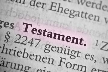 Testament - rot