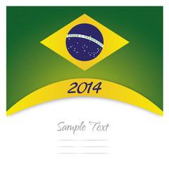 Hintergrund Wallpaper Brasilien Flagge - WM 2014