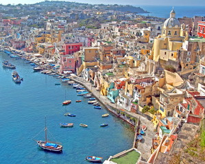 Insel Procida, Golf von Neapel