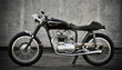 Cafe Racer motorcycle - 49447396