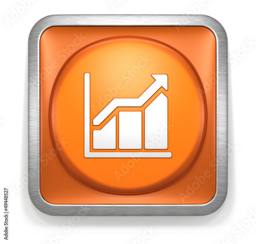 Chart_Arrow_Up_Orange_Button