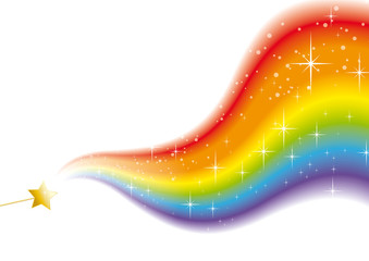 wand rainbow sparkles white 2