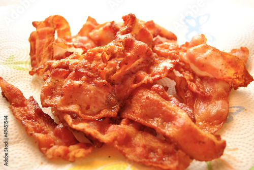 Crispy Fried Bacon