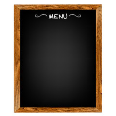 Restaurant Menu Wood Board