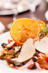 chicken salad with orange