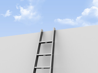 Ladder Leaned Wall