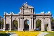 The Puerta de Alcala - Madrid Spain