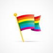 drapeau gay, arc-en-ciel