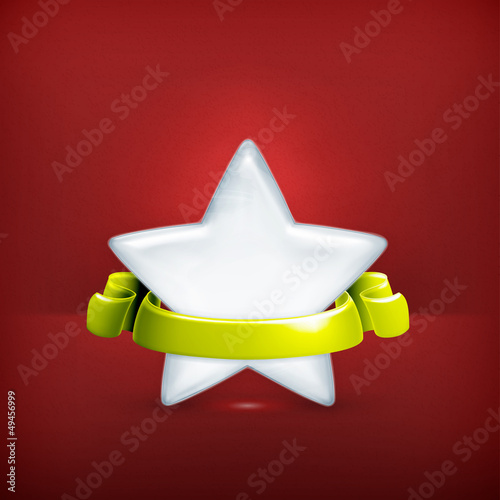 White star, award