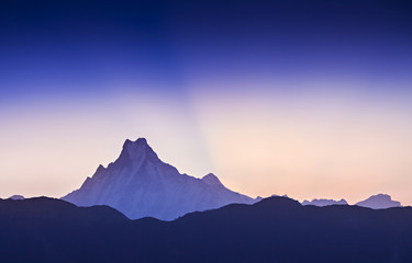Sunrise in Himalaya