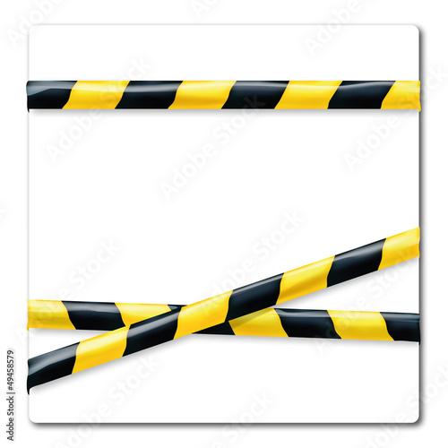 flatterband gelb schwarz stockfotos und lizenzfreie vektoren auf bild 49458579. Black Bedroom Furniture Sets. Home Design Ideas